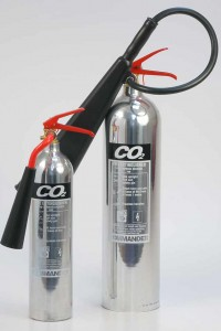 CO2 Chrome Extinguisher