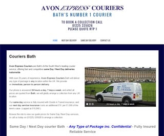 Avon Express by website design