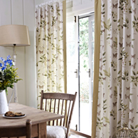 Dining room curtains from Darling Interiors Bath