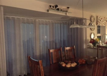Translucent blinds for Dining Area Bath