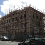 Scaffolding in Bath