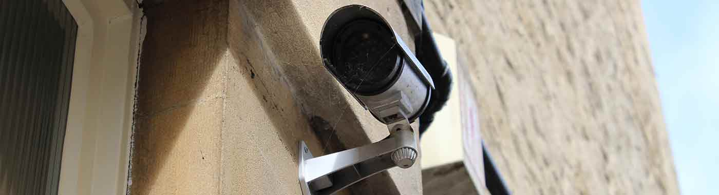 Locksmith in Bristol Castle Security Camera
