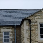 Spanish Slate roof in Bath, close-up shot
