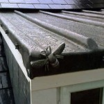 Dormer roof with fly motif