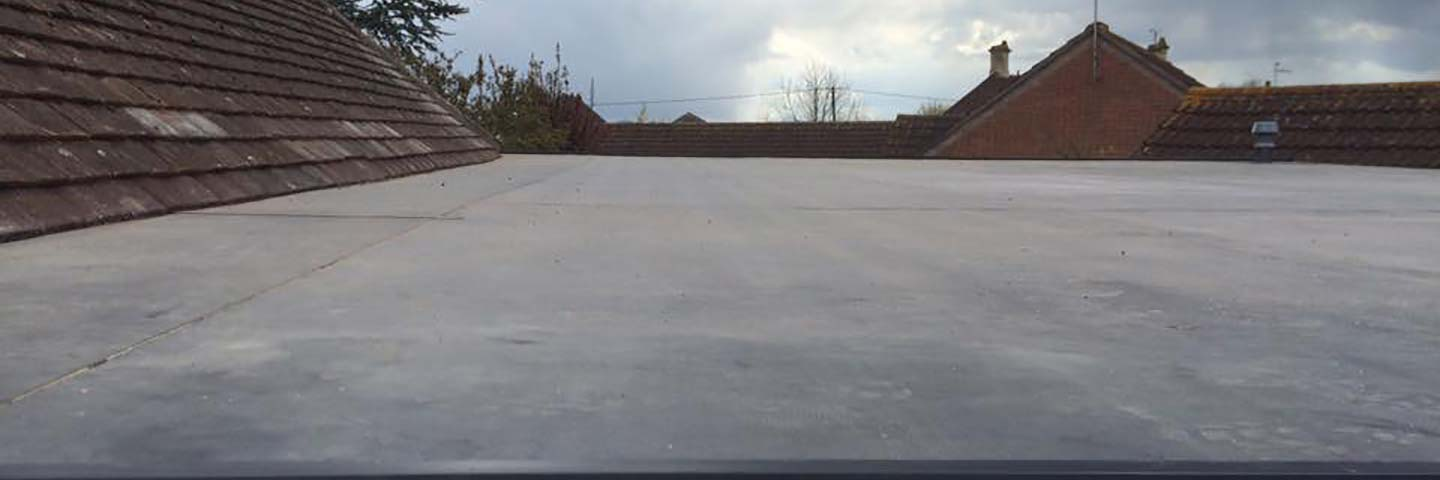 Flat roof built by SC Roofing Bath, Rhepanol FK Single Ply