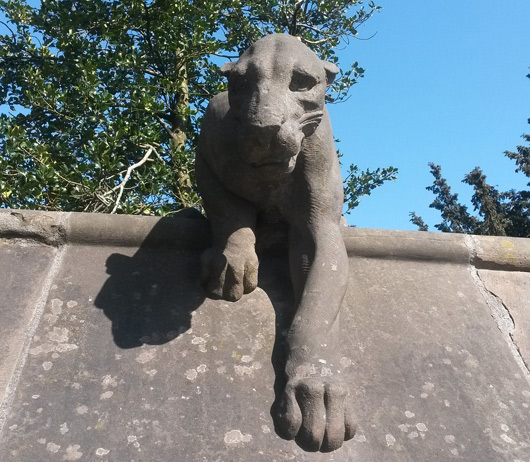 Cardiff Castle Panther