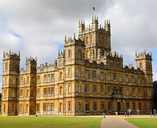Highclere Castle Downton Abbey Tour