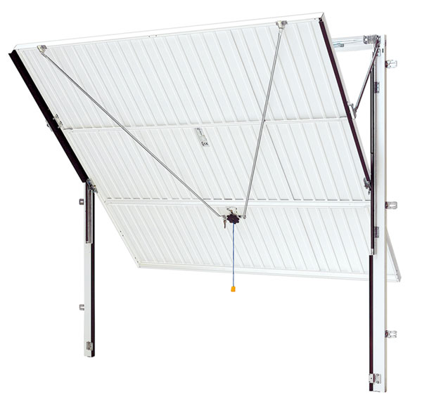 canopy frame, up and over door