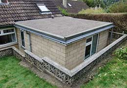 Roofer Bath flat roofing