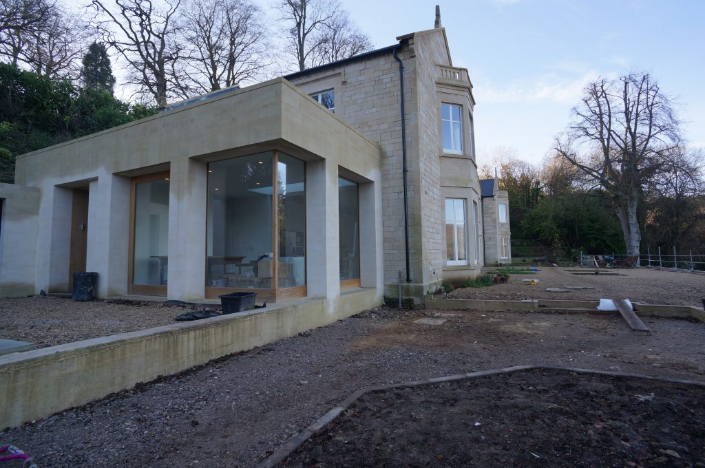 Complete Extension With Natural Stone