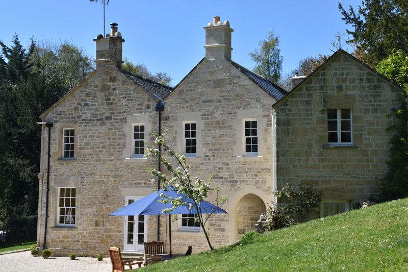 natural stone House Extension
