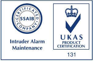 ssaib logo, fire and security Bath