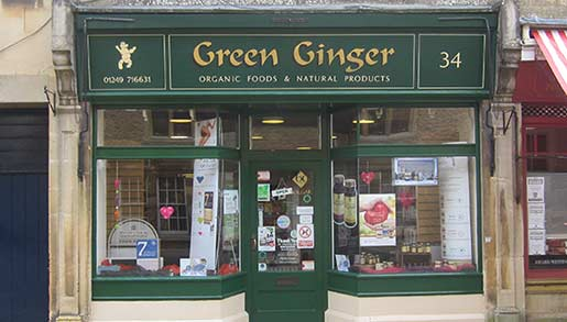 Osteopath Corsham Green Ginger