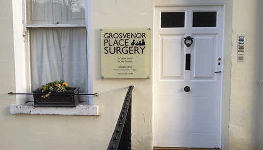 Grosvenor Place Osteopaths Bath