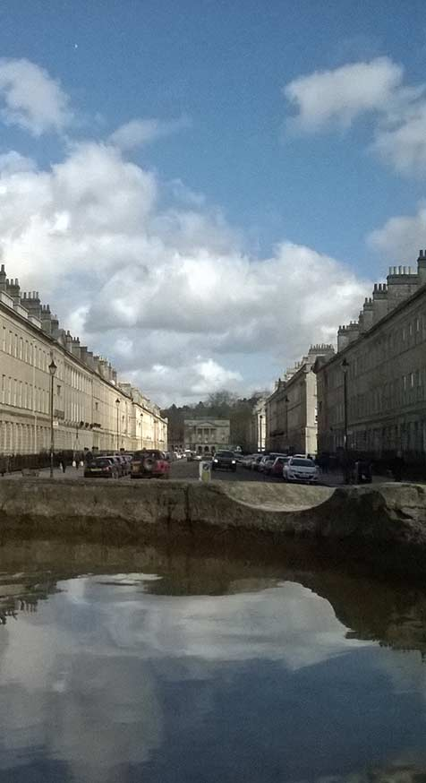 Osteopath reflections of Bath