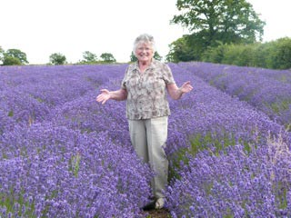 Osteoporosis Awareness, Jean lavender field Bath
